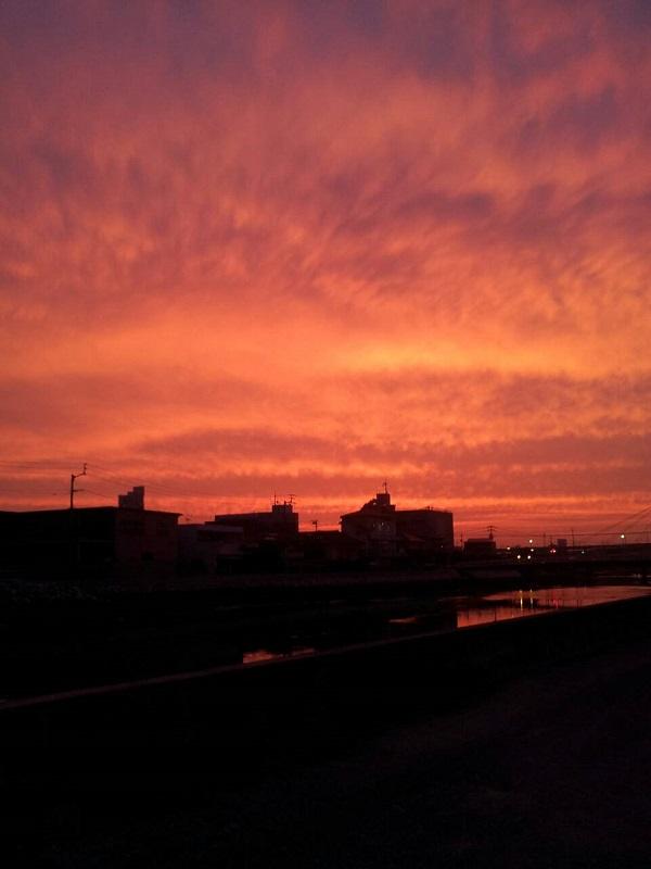 香川の夕焼け